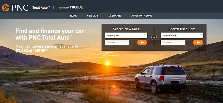 PNC Bank, TrueCar team up to offer new digital auto