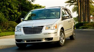 chrysler 2010 town and country recalls