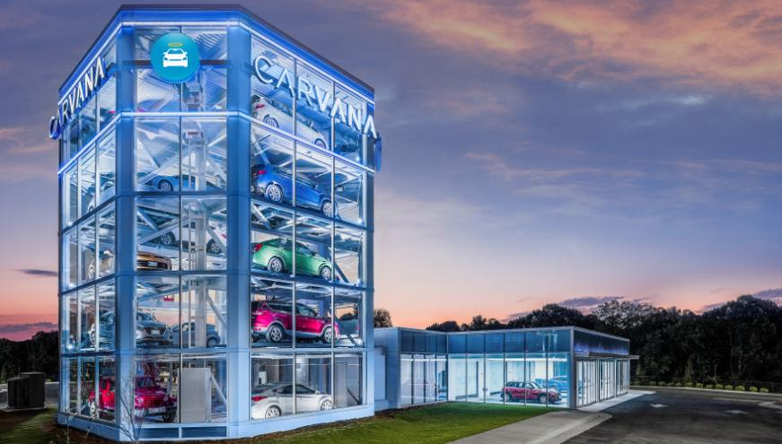 Raleigh Pre Owned >> Carvana opens vending machine in Raleigh   Auto Remarketing