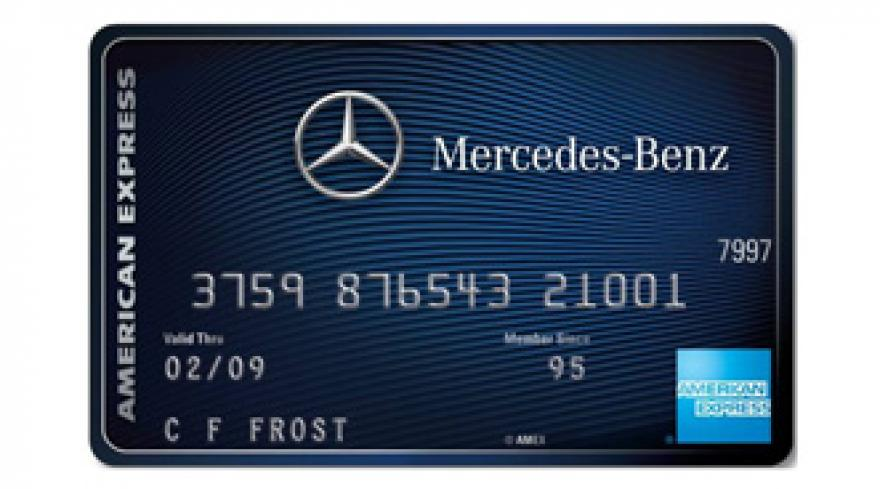 Mercedes benz american express debut co branded credit for Amex mercedes benz