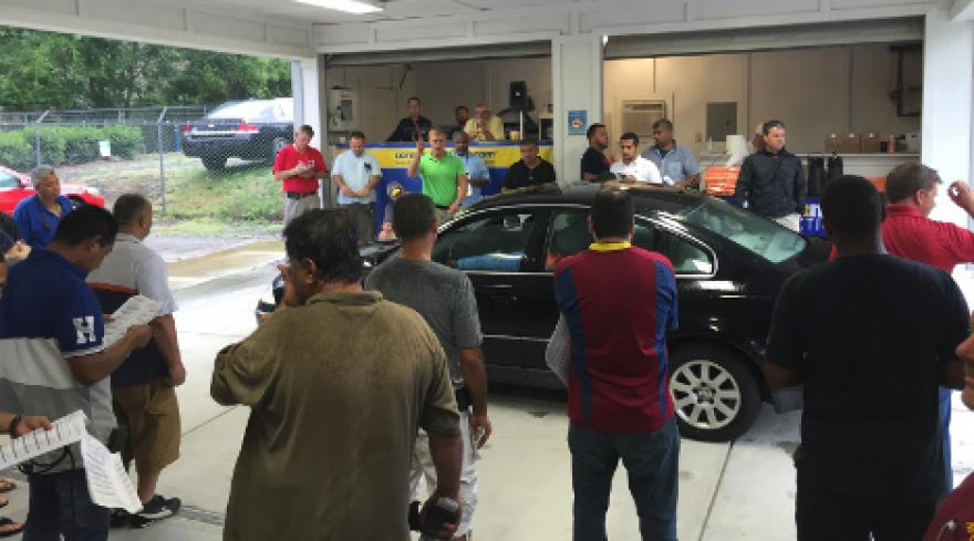 Tuesday At The Carmax Auction Auto Remarketing