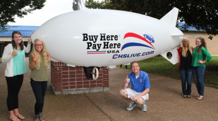 Cleveland Buy Here Pay Here Car Lots >> High School Students Benefit from BHPH Store's Blimp Donation | Auto Remarketing