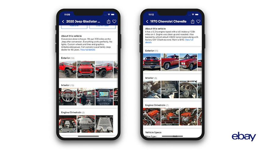 New Ebay Motors App User Can Buy Sell Vehicles With Ai Auto Remarketing