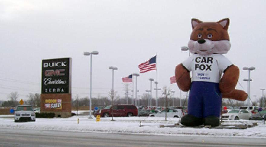 Car Fox Named Most Irritating Animated Actor Auto Remarketing
